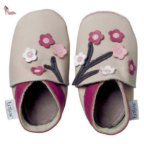 new design autumn shoes great deals Bobux Chaussure Bébé - Géants Écru Floraison - Taille 2 XL ...