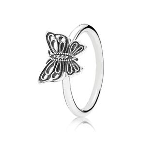 (AK7490) Pandora Love Takes Flight Ring
