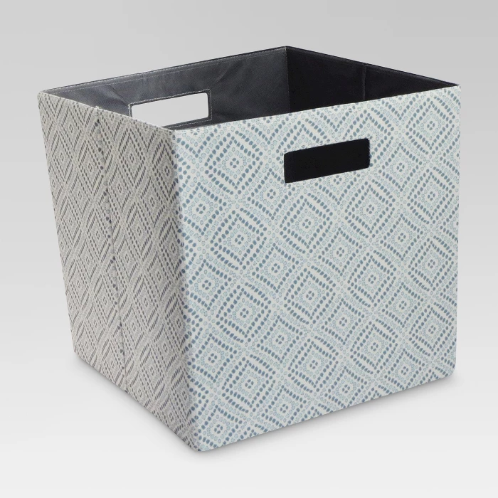 Fabric Cube Storage Bin 13 Threshold Cube Storage Cube Storage Bins Fabric Storage Cubes