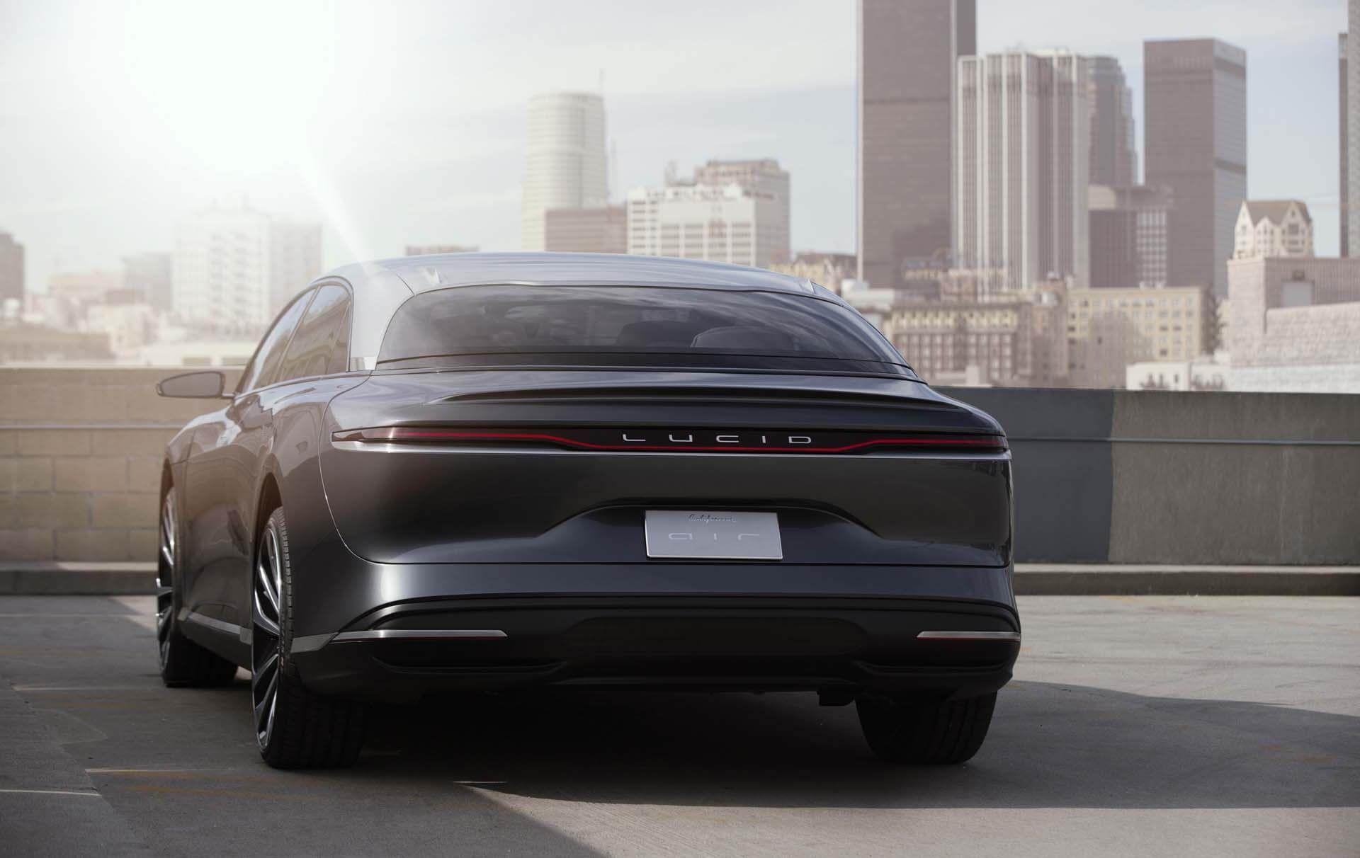 Lucid Air Luxury EV Electric Sedan in 2020 Hybrid