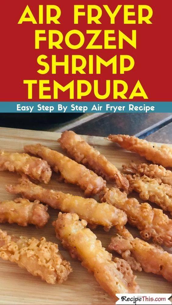 Air Fryer Frozen Tempura Shrimp Receita em 2020