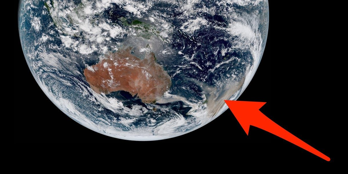 Spectacular images from space reveal the particular