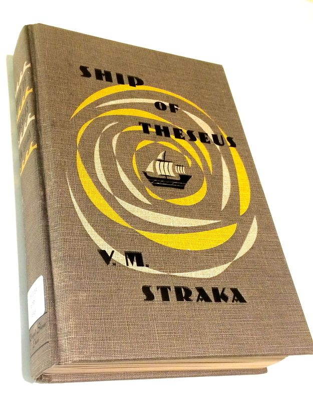 The cover of Ship of Theseus, a book within a book: S. by J.J. Abrams and Doug Dorst