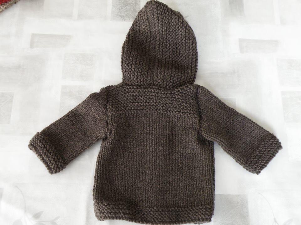 Manteau 3 6 mois - Mes tricots et astuces Manteau Bébé, Gilet Bébé, 841a78a6238