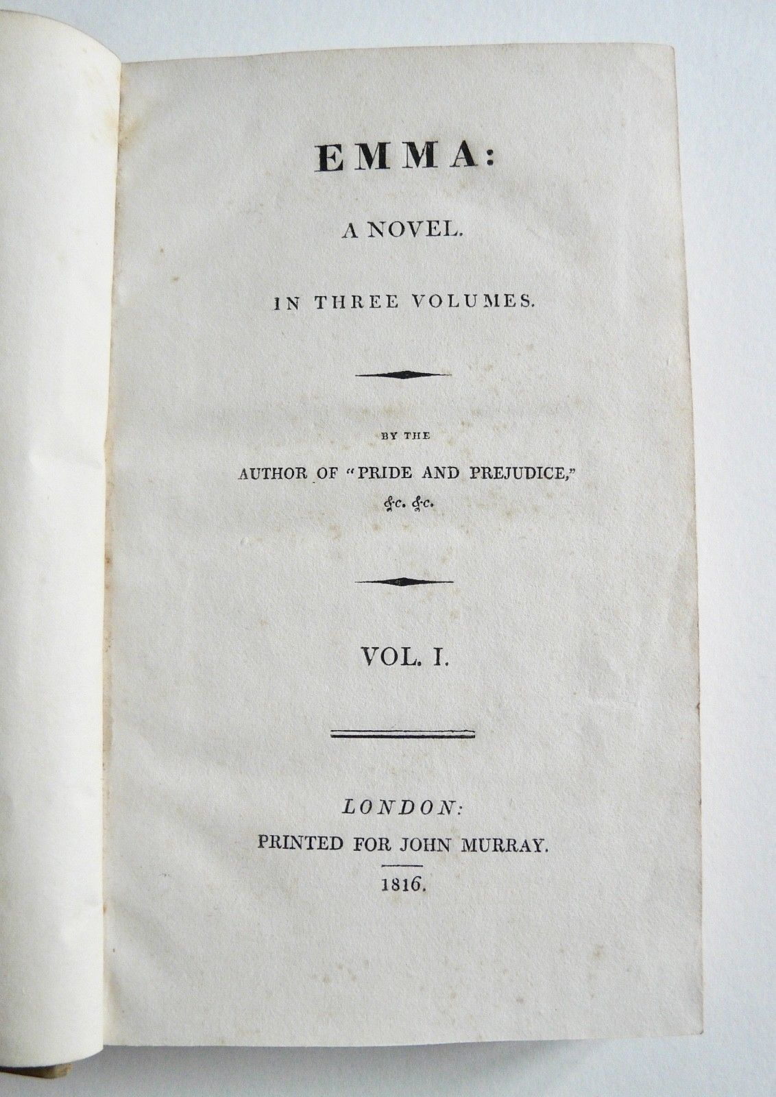 First editions   austenonly.