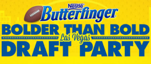 Nestlé Butterfinger Bolder Than Bold Las Vegas Draft Party Sweepstakes on…