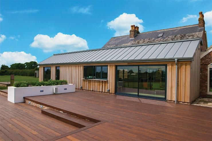 Best A Contemporary Extension To A Traditional Farmhouse Roof 400 x 300