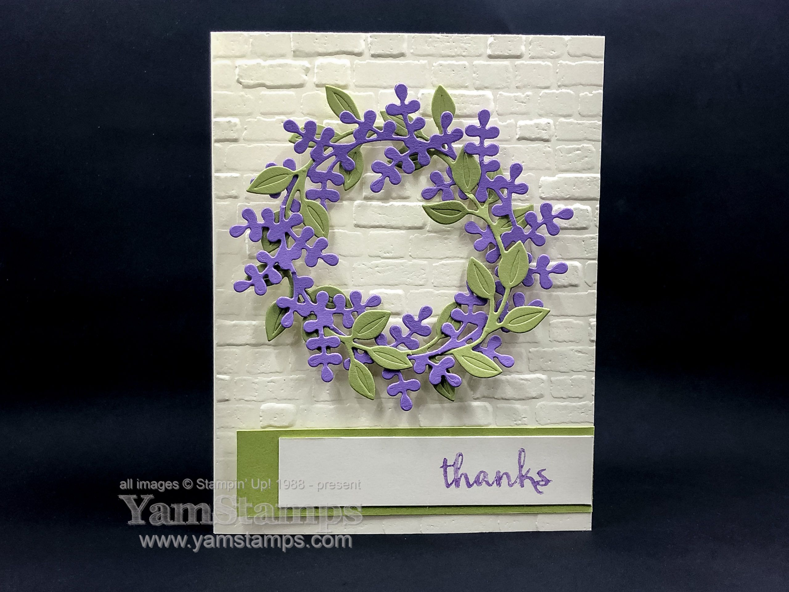 Stampin' Up! Canada's Arrange a Wreath Bundle can be used