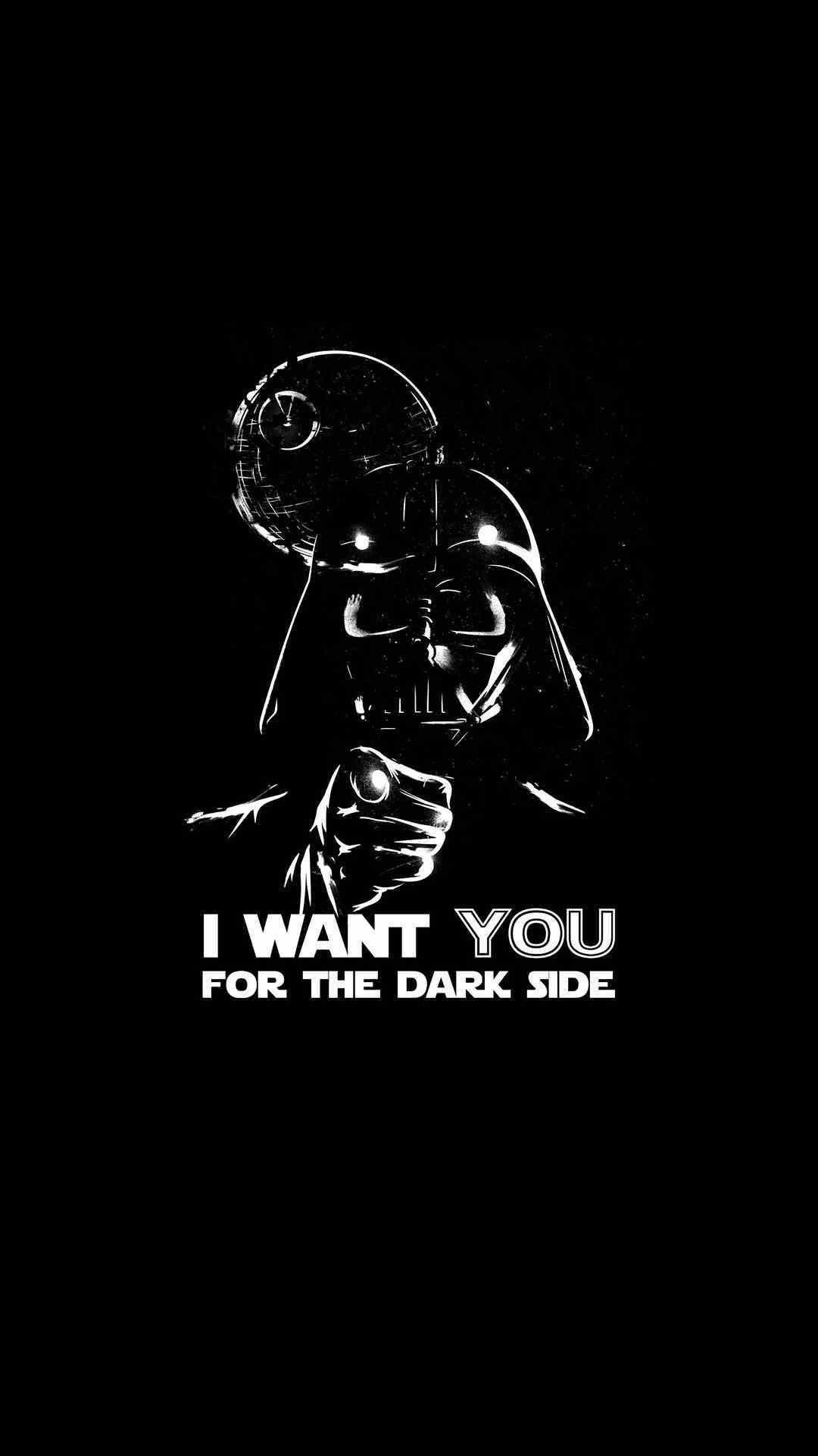 Minimalist Darth Vader Wallpaper Android In 2020 Star Wars Wallpaper Cute Black Wallpaper Darth Vader Wallpaper