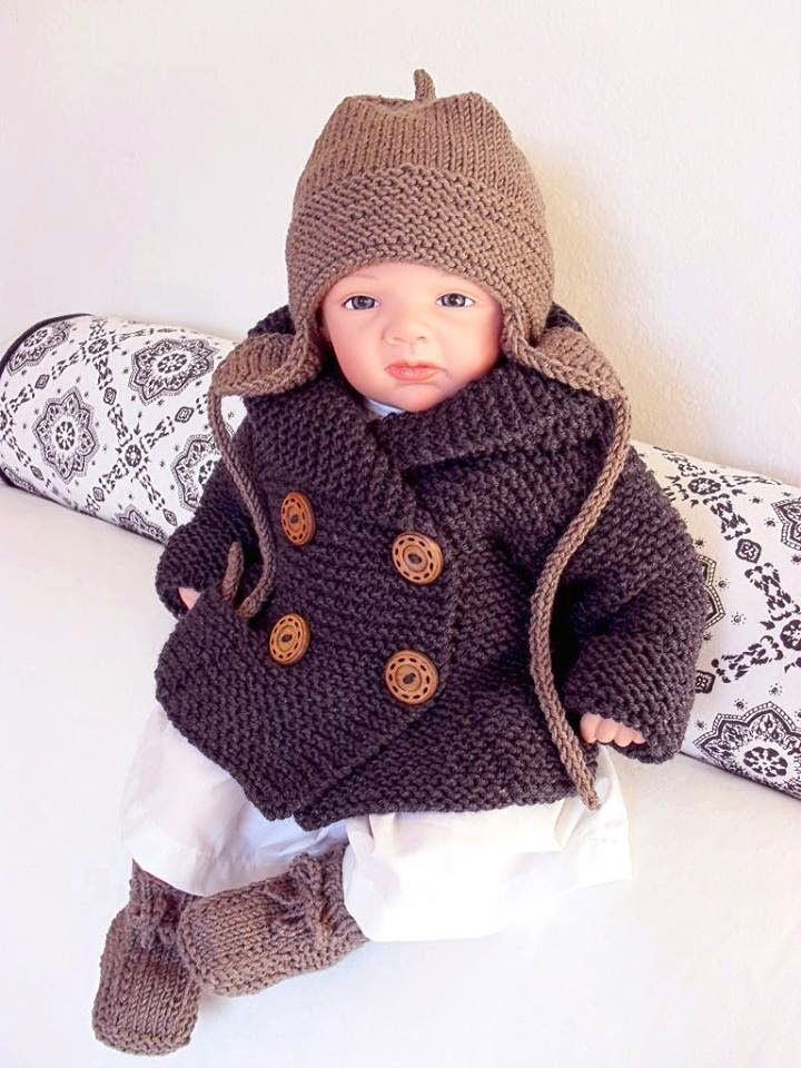 Sirdar Knitted Baby Beret Pattern Free Craft Project Stitching
