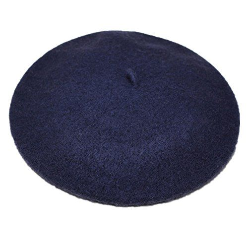 JOYHY Womens Solid Color Classic French Style Beret Beanie Hat