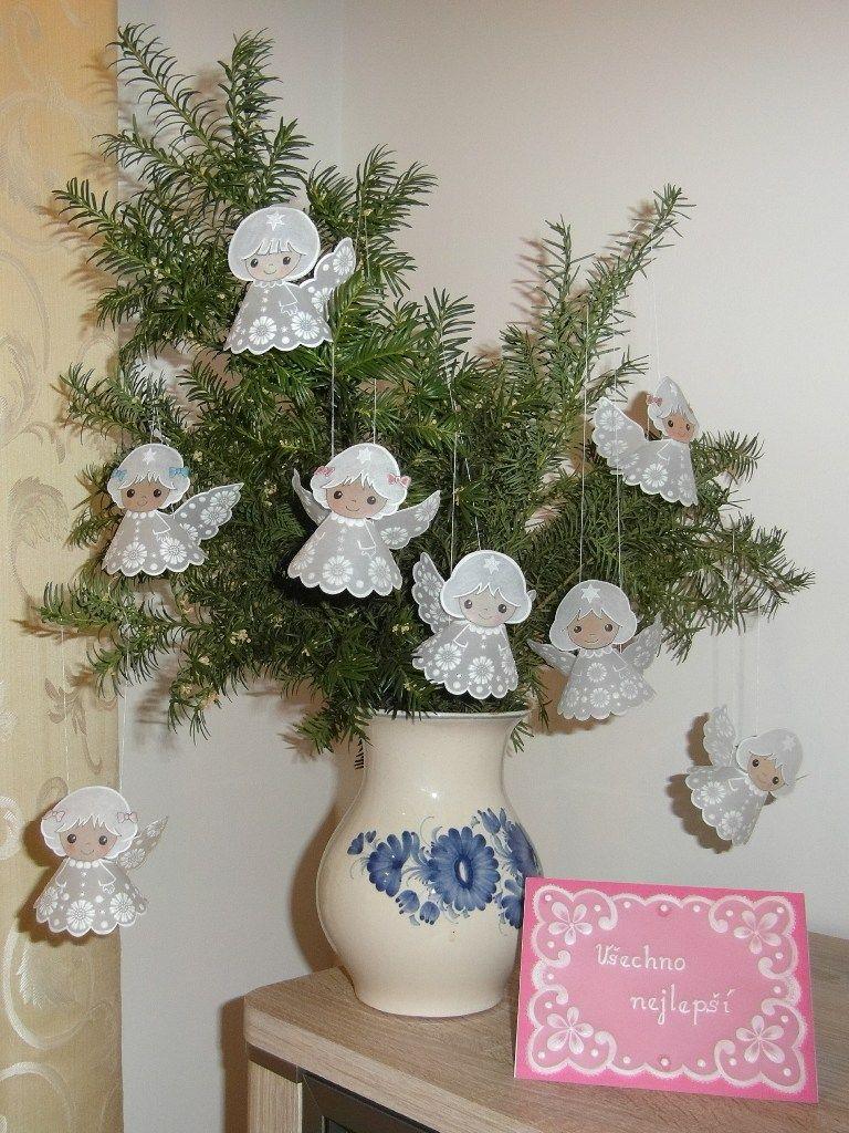 Pergamano Angels - my Handmade - Libuše-Libby