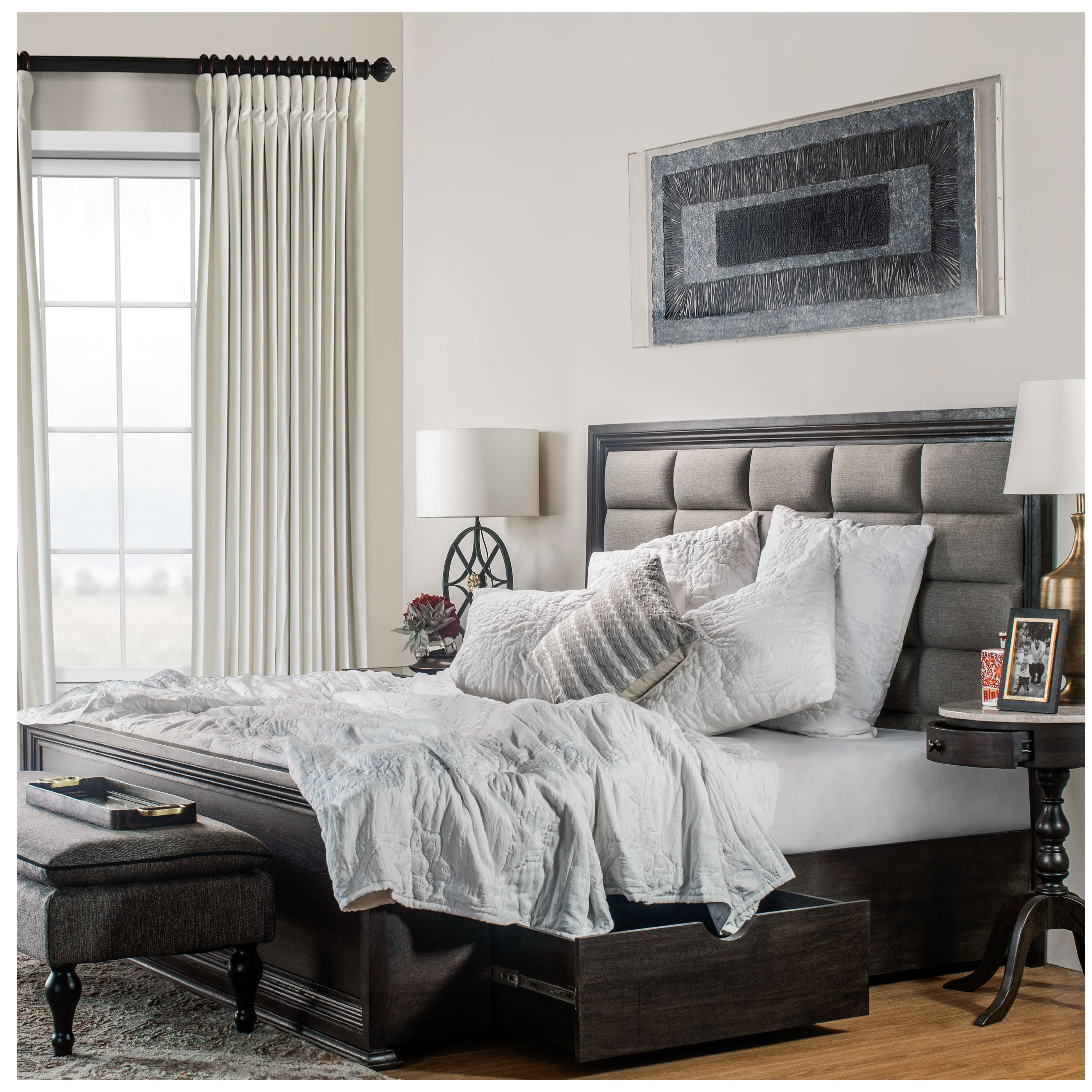 Hamptons Inspired Luxury Home Master Bedroom Robeson: Aptly Defining A Modern Home, Inspired By European Culture