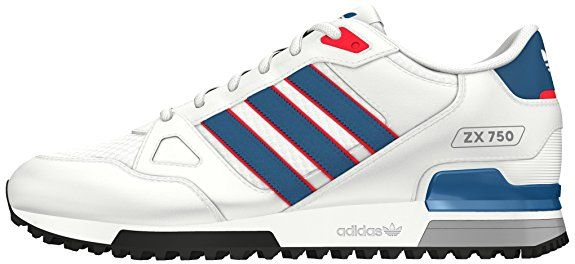 buy popular 5a287 6cb72 adidas Unisex-Erwachsene ZX 750 Sneakers, Weiß (Ftwr White Unity Blue  Ray  Red), 49,90€  SALE