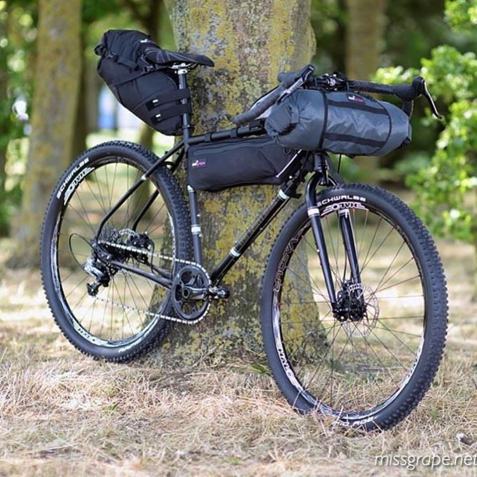 Full Setup For Bikepacking Ph Dunkcyclist Missgrape