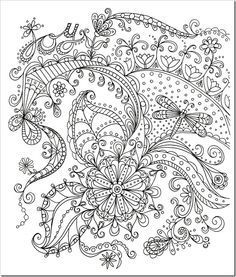 Stress Relieving Coloring Pages