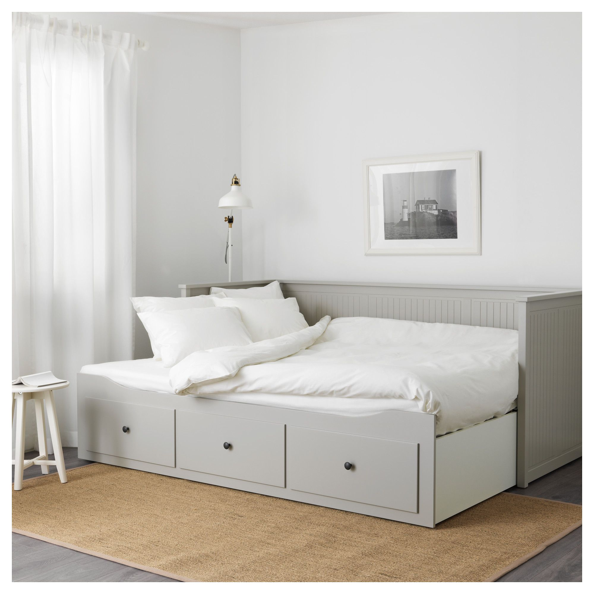 Ikea Bettbank Ikea Hemnes Day Bed Frame With 3 Drawers Slaapkamers