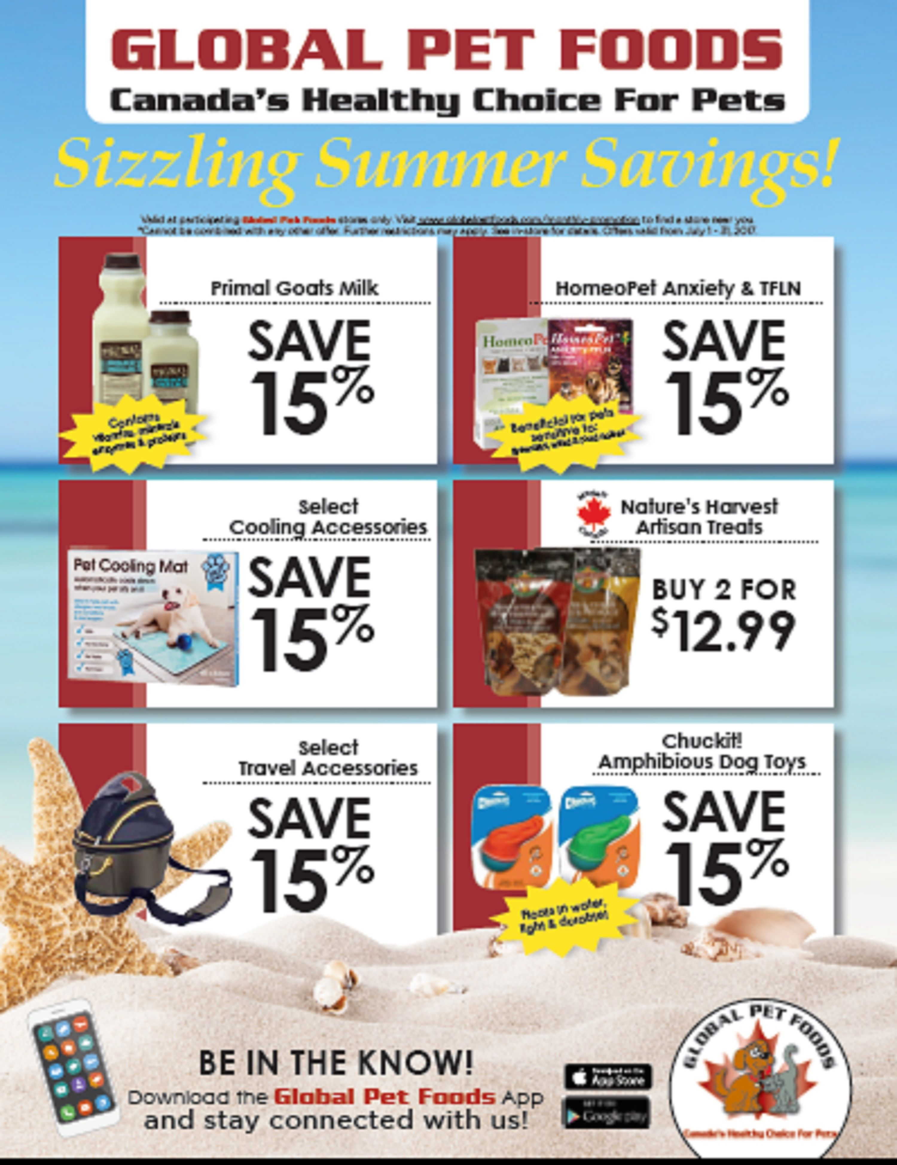 Take Advantage Of Our In Store Specials Every Month During The