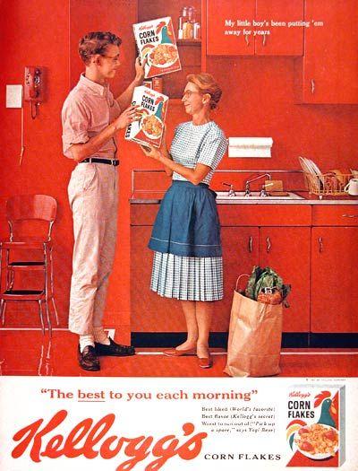 old cornflakes ad.