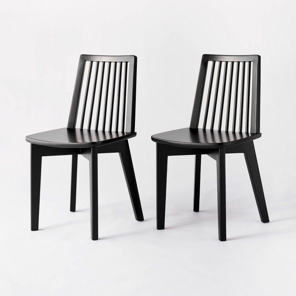 48+ Black wooden kitchen chairs info