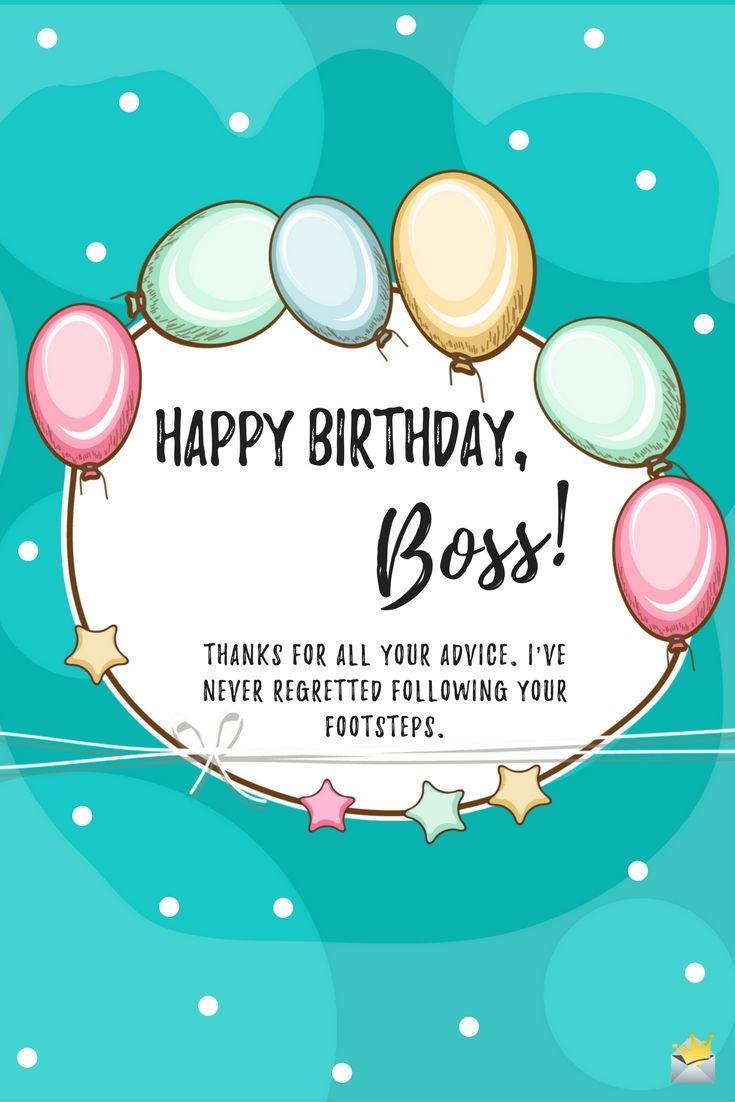 Happy Birthday Boss Happy Birthday Boss Pinterest Happy