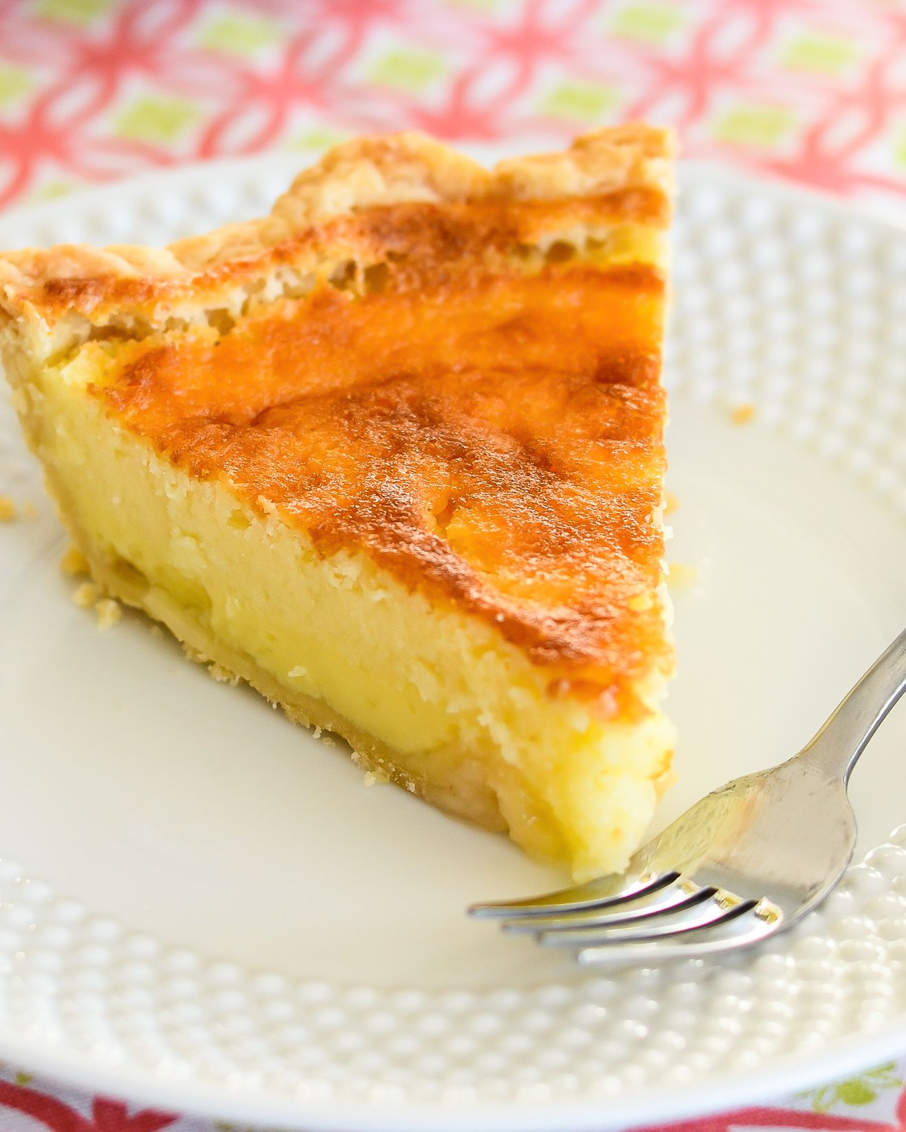 Buttermilk Pie Flaky Pastry Crust And Creamy Custard Like Filling Made With Real Buttermilk This Scrumpti Buttermilk Pie Buttermilk Pie Recipe Pie Recipes