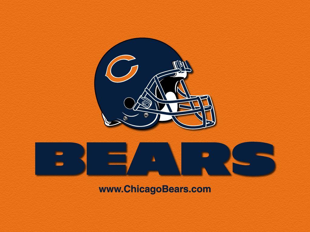 Orange Background Bears Chicago Bears Chicago Bears Logo