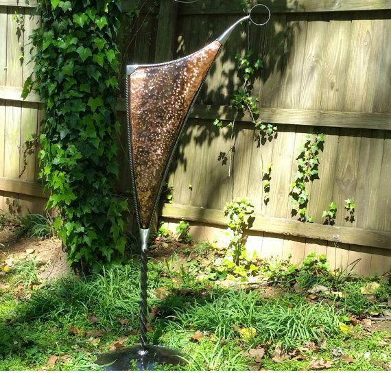 Aged copper,garden art,metal sculpture,outdoor sculpture,garden