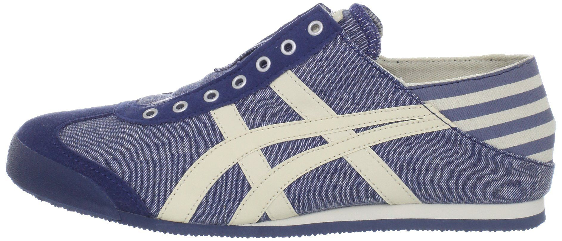 22af9cec64714 Amazon.com: Onitsuka Tiger Mexico 66 Paraty Fashion Sneaker, Blue ...
