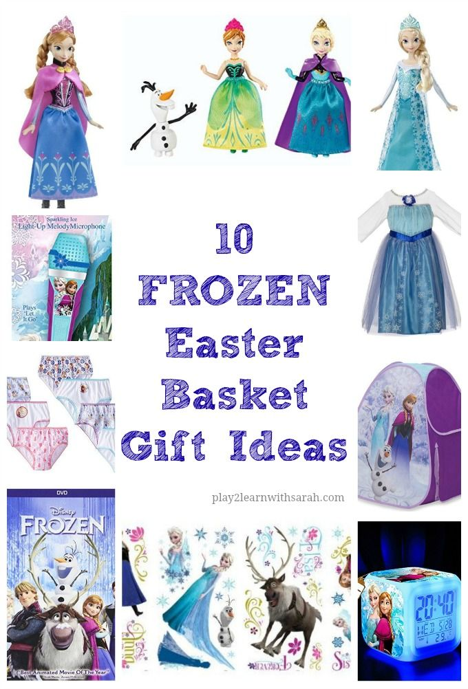 10 frozen easter basket gift ideas pinterest basket gift easter 10 frozen easter basket gift ideas i like to add fun gifts to my kids negle Images