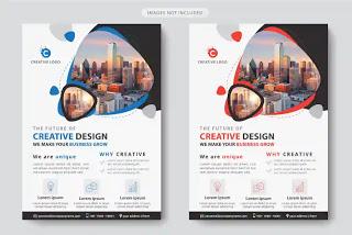 تحميل بروشورات وفلايرات جاهزة للتعديل Business Template Business Flyer Templates Corporate Flyer