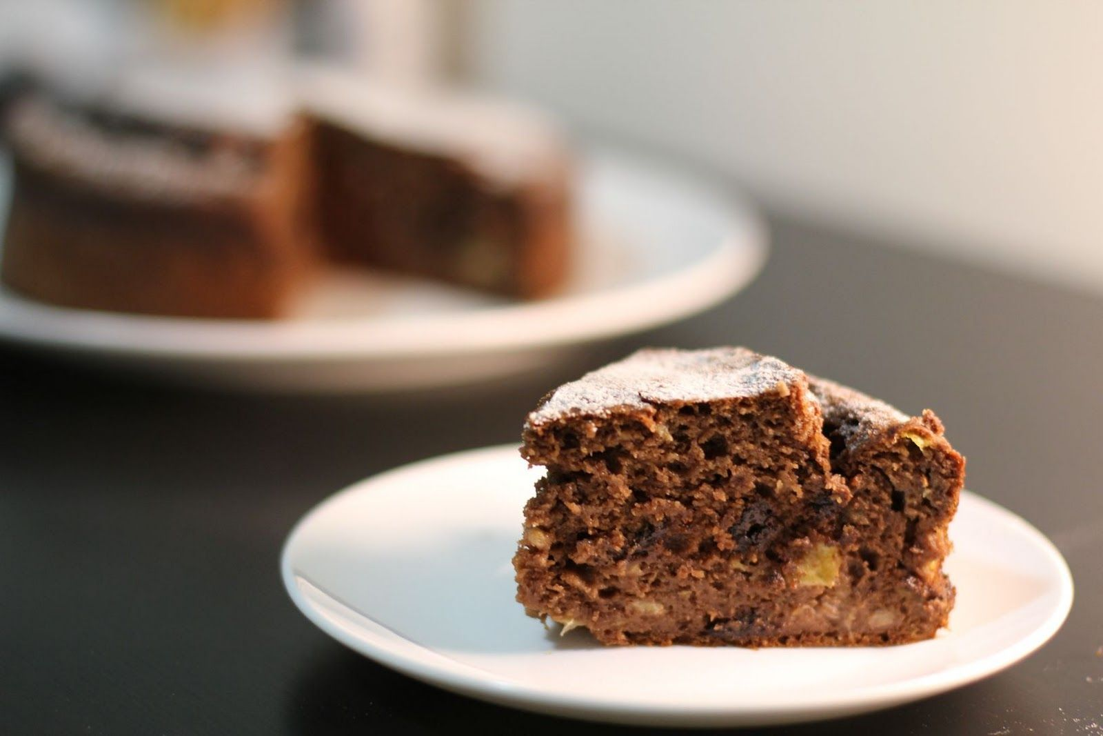 Green Cilantro: Chocolate Banana Cake