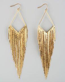 Y19AB Jules Smith Festive Fringe Earrings