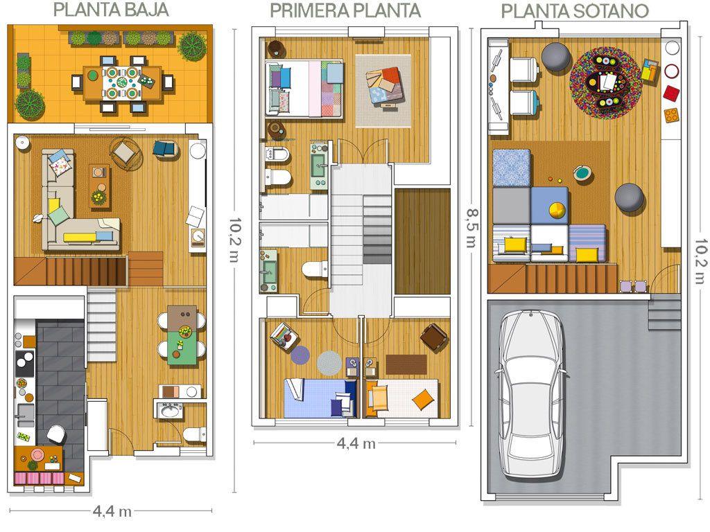 Una casa adosada en la costa catalana | Casa adosada, Costillas y ...