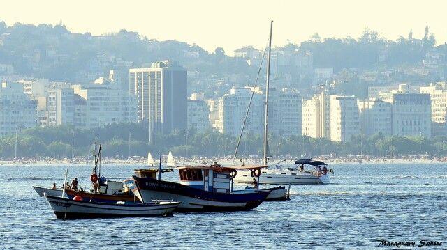 View from Urca to the Flamengo beach. Rio de Janeiro / Brasil
