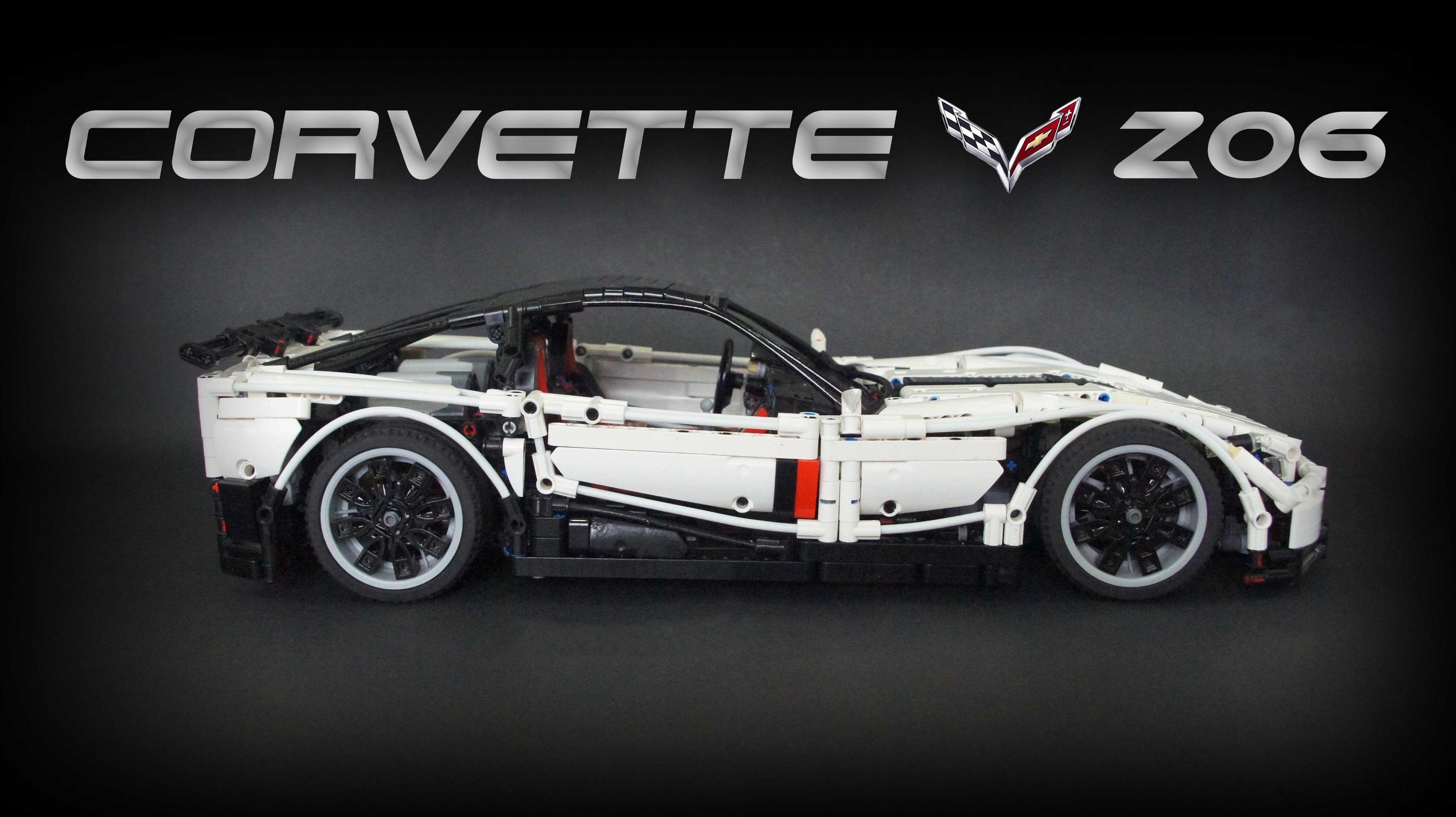Chevrolet Z06 Technic Rc Corvette Lego OXPwuTikZ