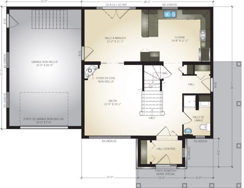 Pro-Fab Constructeur de maisons modulaires, usinées, préfabriquées - prix construction d un garage