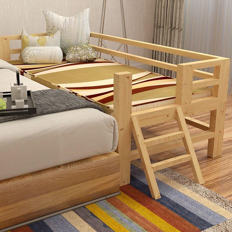 Wysokiej Jakości Litego Drewna Dzieci łóżko Z Poręczy