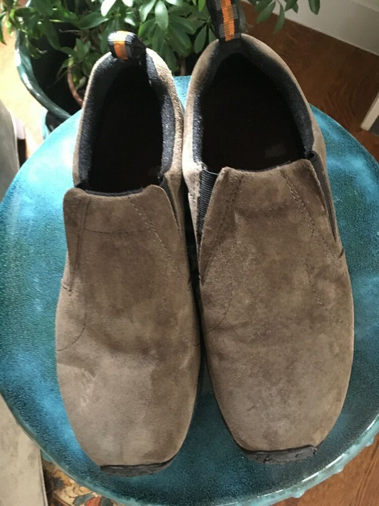 79daca71cad MERRELL MENS JUNGLE MOC GUNSMOKE SUEDE DUAL DENSITY CASUAL LOAFERS SHOES  Sz.9 #fashion #clothing #shoes #accessories #mensshoes #casualshoes (ebay  link)