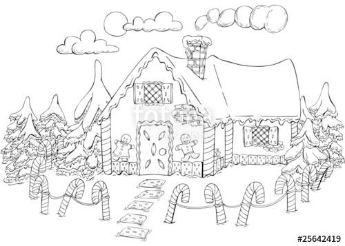 lebkuchenhaus malvorlagen weihnachtsbaum christbaum