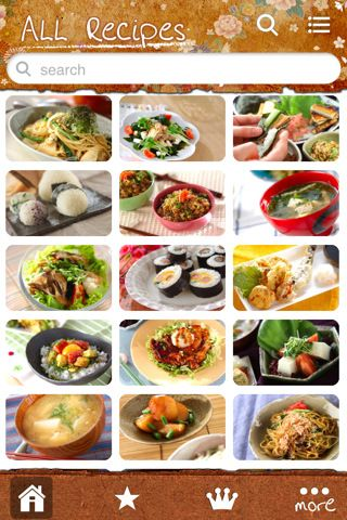 Japanese food recipe iphone and ipad app by excite japan coltd japanese food recipe iphone and ipad app by excite japan coltd forumfinder Images