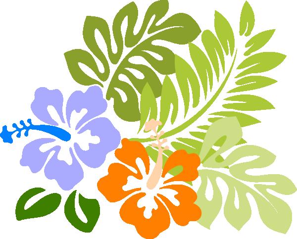 Tiki Images Clip Art | Hibiscus Brenda clip art - vector clip art online, royalty free ...