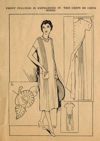Home Sewing Tips from the 1920s - Using Tucks to Add Chic to Your ...