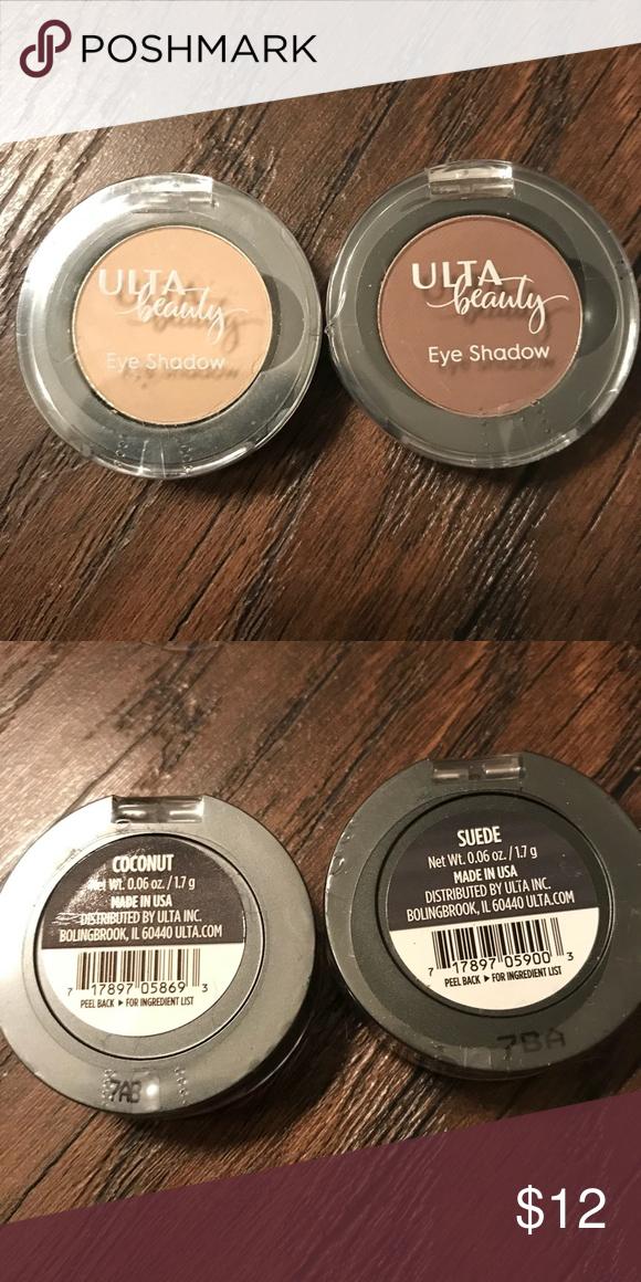 NWT Ulta Beauty Eyeshadow Set 2 brand new sealed Ulta