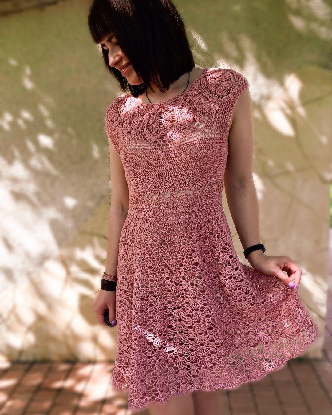 Страна мам вязание крючком платья картинки