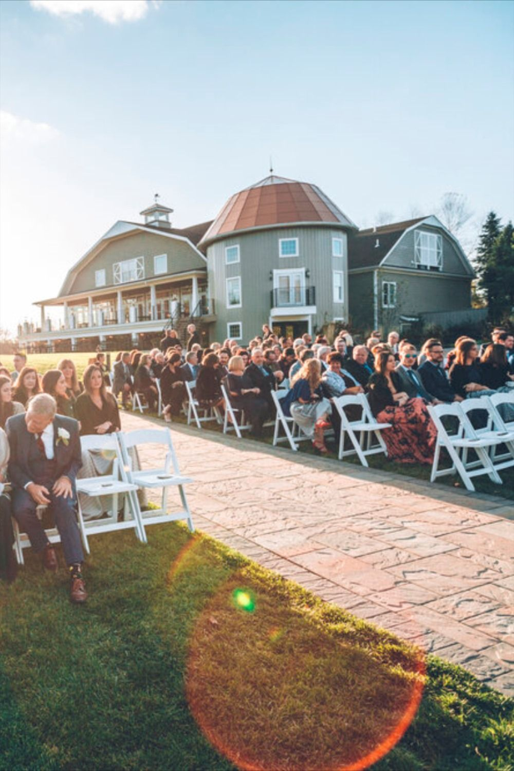 NJ wedding venue with outdoor ceremony space ...