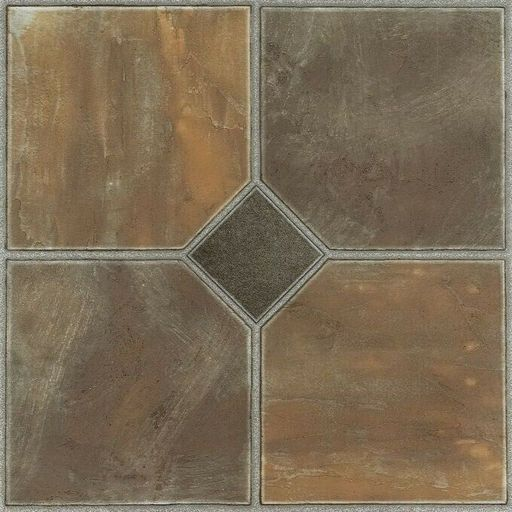 Nexus Rustic Slate 12x12 Self Adhesive Vinyl Floor Tile 20 Tiles 20 Sq Ft In 2020 Vinyl Flooring Luxury Vinyl Tile Vinyl Tile