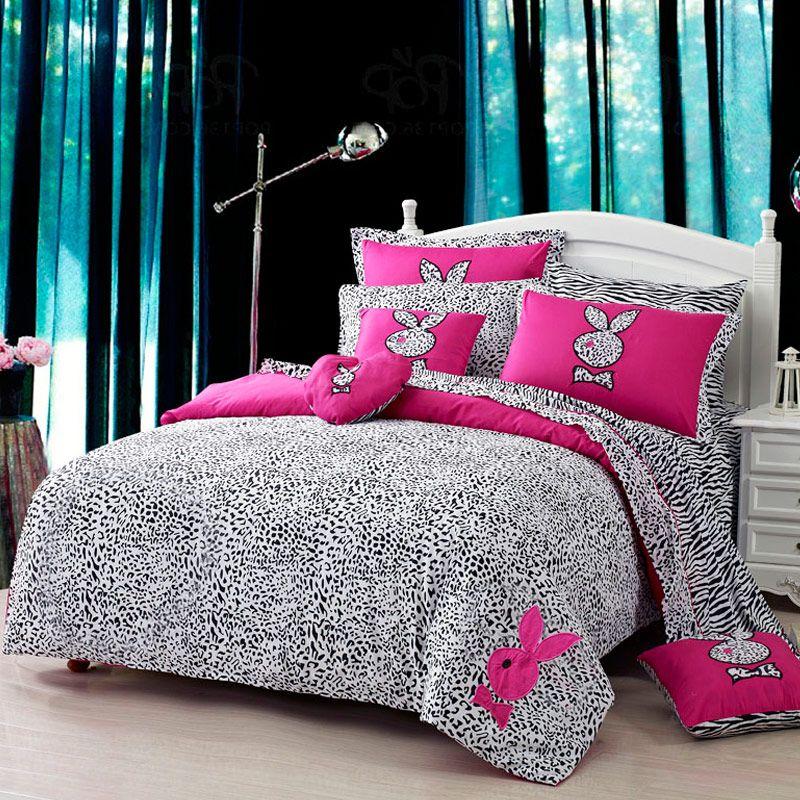 Best Tuzki Pink Zebra Print Bedding Set Pink Bedding Set 400 x 300
