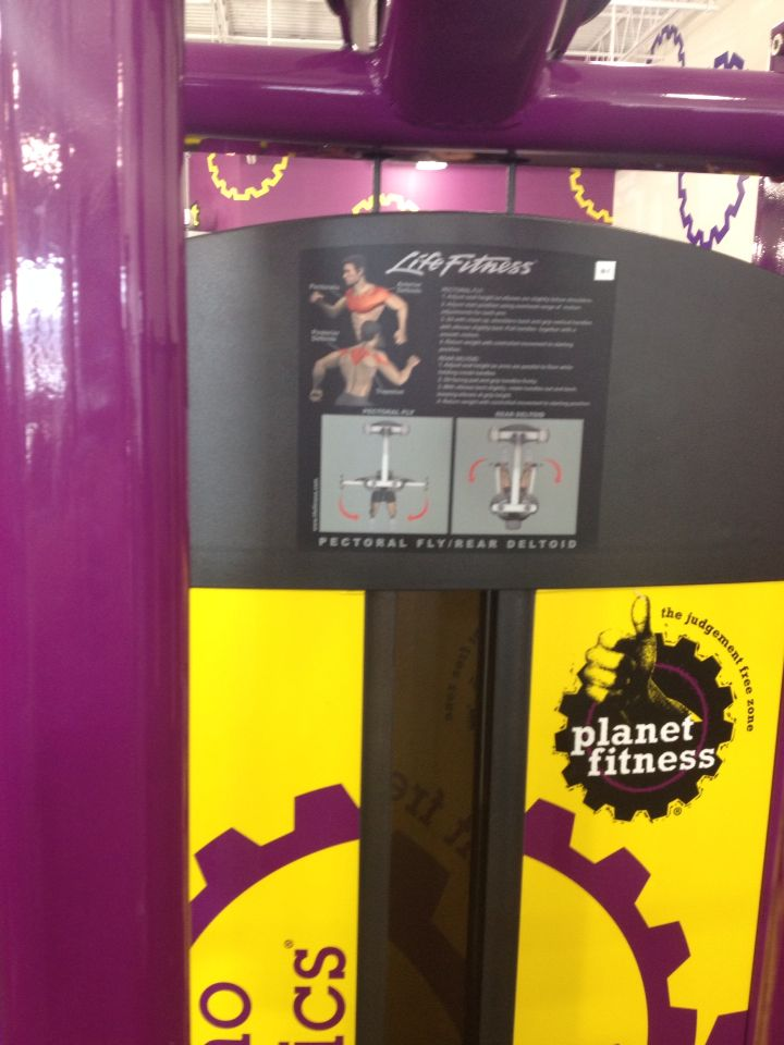 Pectoral Fly Planet Fitness Workout Fitness Tips Planets