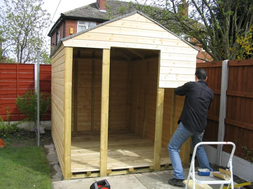 5 secrets to building a better shed diy guy beams concrete and